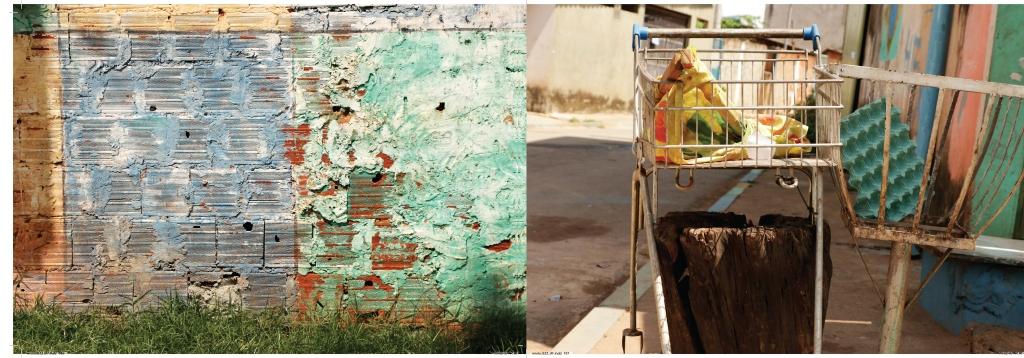 lixeira pobreza Brasília  muros fotografia experimentos