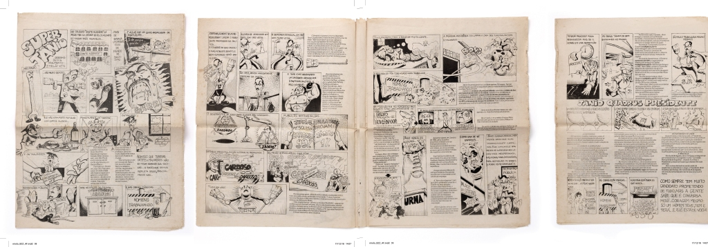 historia em quadrinhos politica Janio Quadros Jango comunismo