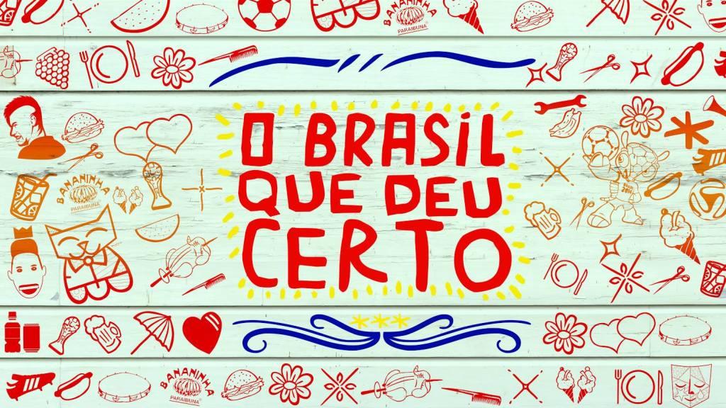 Antigo logo da marca, reformulado em 2020 O Brasil que deu certo meme memes