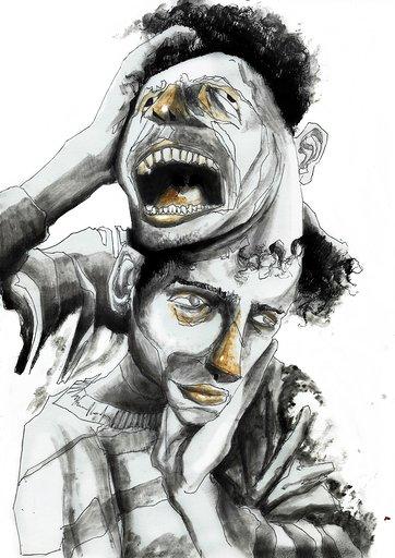 Bipolar Ilustração de Junior Santos