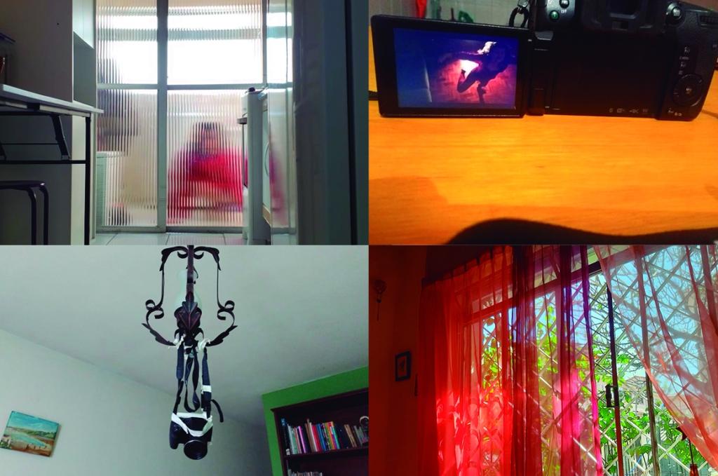 Processos criativos: estudos de iluminação, enquadramento e ângulo de câmera.