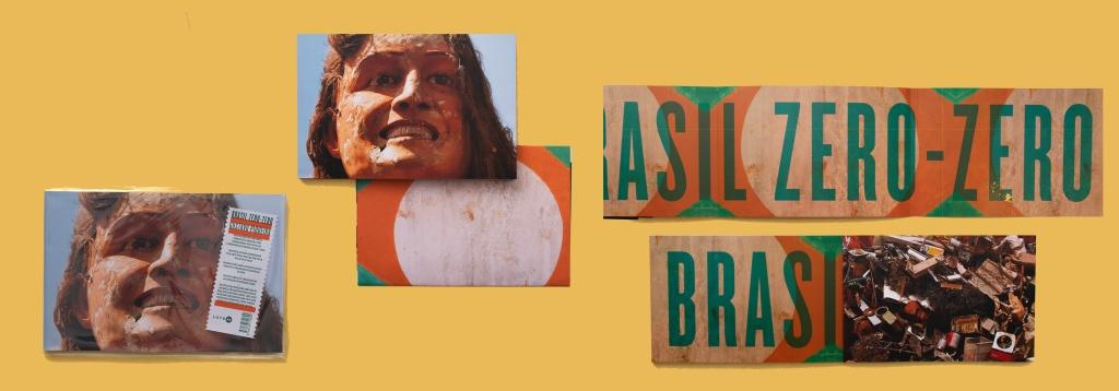 Capa e aberturas imagens do livro BZZ de Gustavo Piqueira