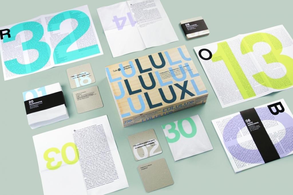 Figura 1 – Conjunto de peças do livro  Fonte: www.lululux.com.br (2019)