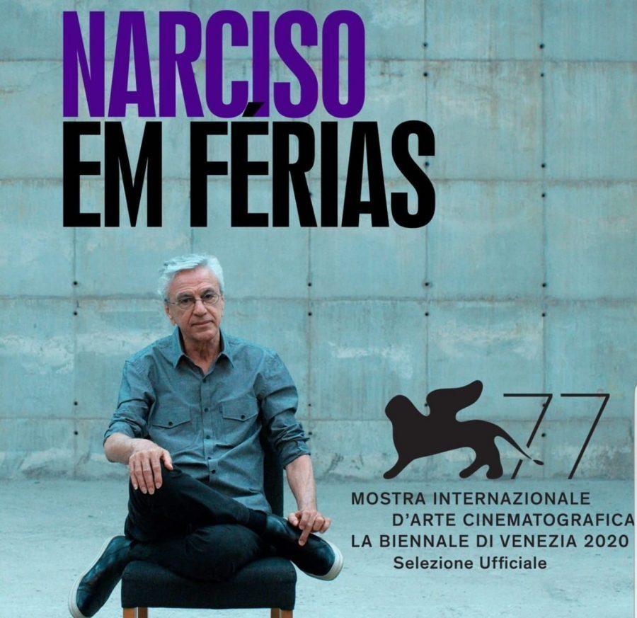Pôster do documentário Narciso em Férias