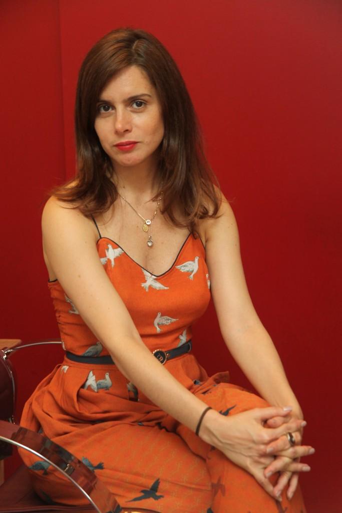 Priscila Gontijo, a nossa entrevistada