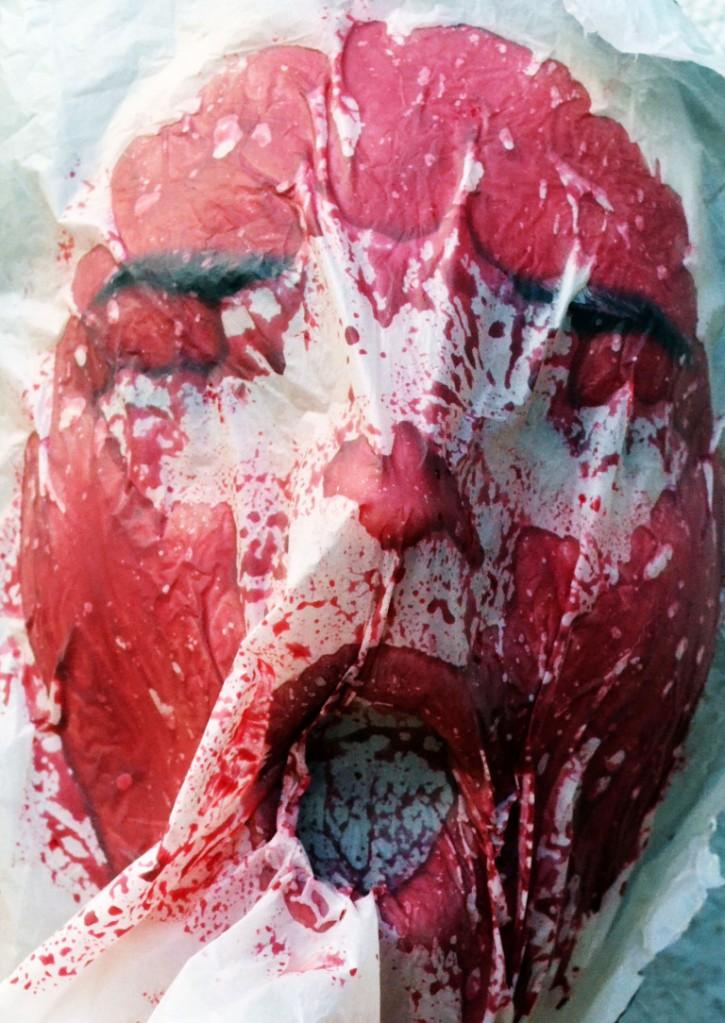Foto por: Yara Oliveira Cinema Horror caseiro filme terror
