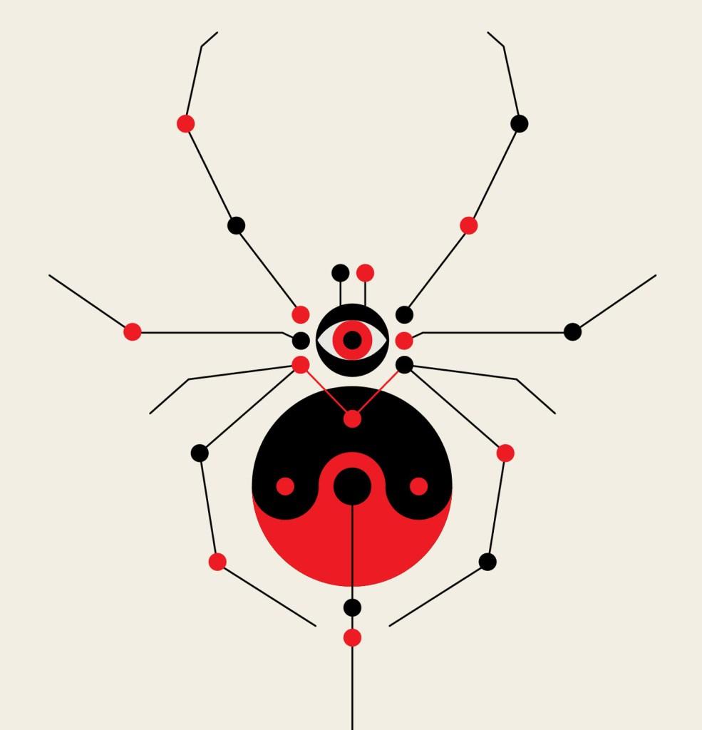 A geometria psicodélica de Adam Goldberg é bom exemplo para ilustrar essa questão