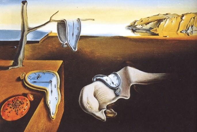 A persistência da memória (1931) - Salvador Dali