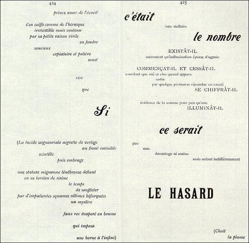 Figura 2: Un coup de dés (1897).  Fonte: Câdor, 2016.