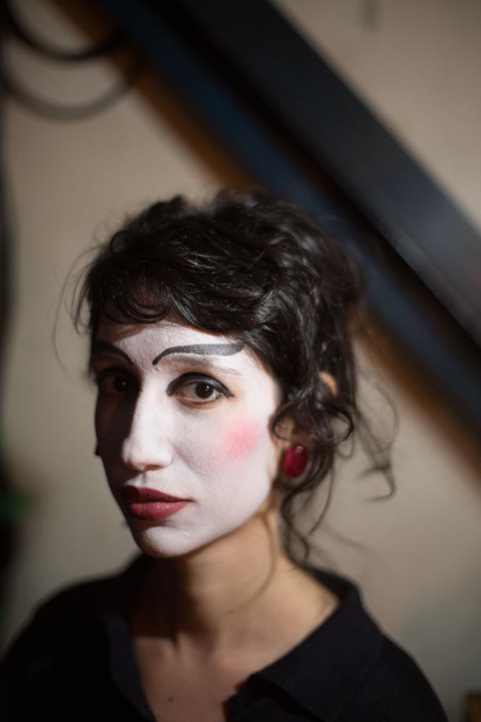 Camarim do Teatro Oficina - Roda Viva, 2019. Direção de Zé Celso e retrato por Jenifer Glass