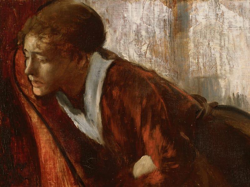 Estar Degas, Melancolia (1860)