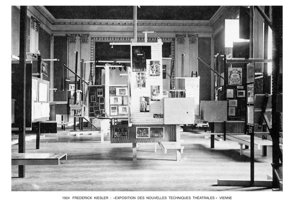 Fig 4. Exposição Internacional de Nova Técnica de Teatro, Viena, 1924 Fonte http://www.beaudouin-archi tectes.fr/2016/12/frederick-kiesler/