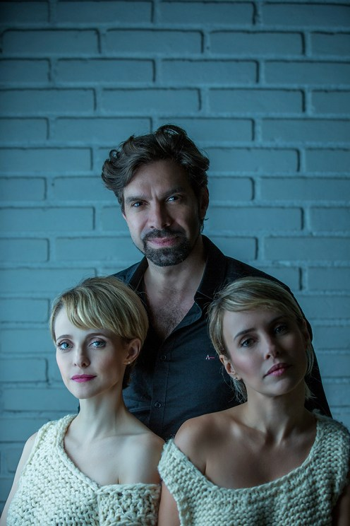 Maria Helena Chira, Fernanda Nobre e José Roberto Jardim - protagonista de um teatro futuro