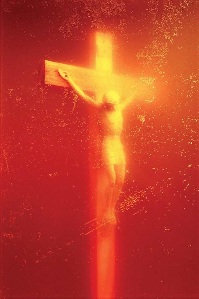 PISS CHRIST, 1987, Ilfochrome, 152.4 x 101.6cm